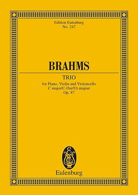 Piano Trio in C Major, Op. 87
