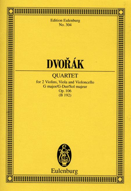 String Quartet in G Major, Op. 106