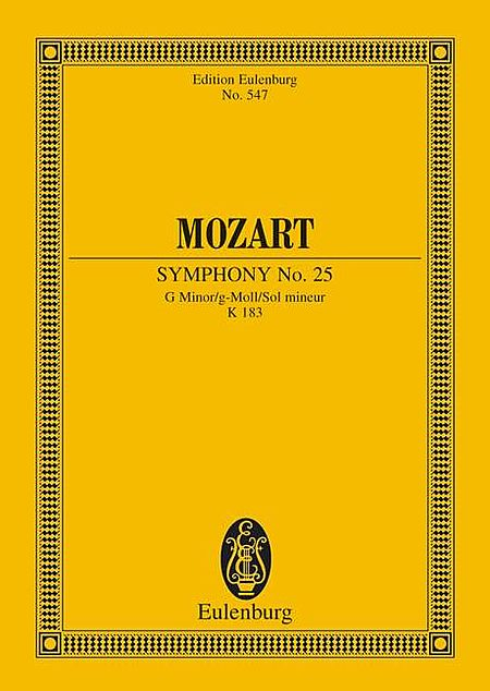 Symphony No. 25 in G Minor, K. 183