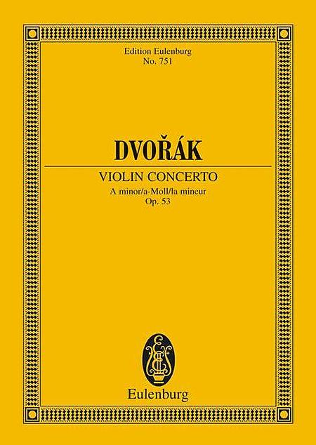 Violin Concerto in A Minor, Op. 53
