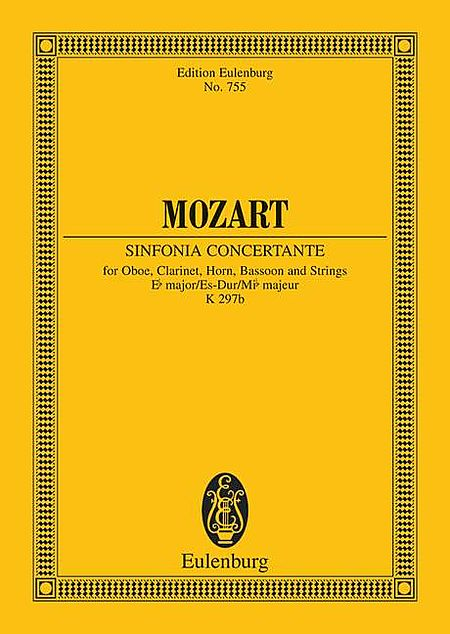 Sinfonia Concertante, K. 297b