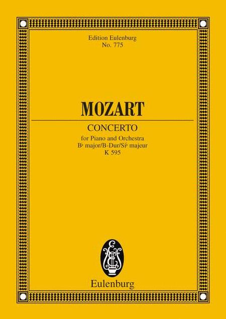 Piano Concerto No. 27, K. 595