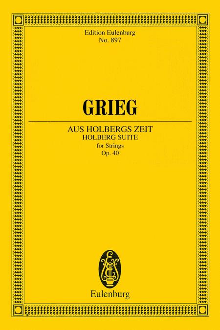 Holberg Suite for Strings, Op. 40