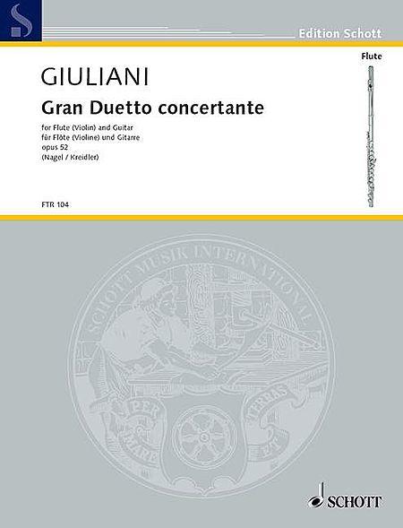 Gran Duetto Concertante, Op. 52