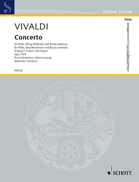 Concerto No. 4 in G Major, Op. 10 (RV 435/PV 104)