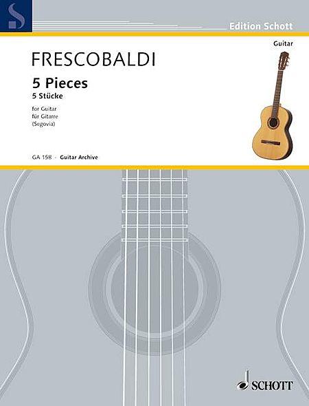 Five Pieces (Guitar Archives)
