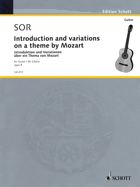 Introduction and Variations on a Theme of Mozart, Op. 9