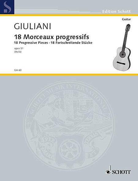 18 Progressive Studies, Op. 51