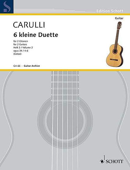 Six Little Duets, Op. 34