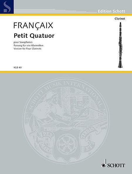 Petit Quatuor pour Saxophones