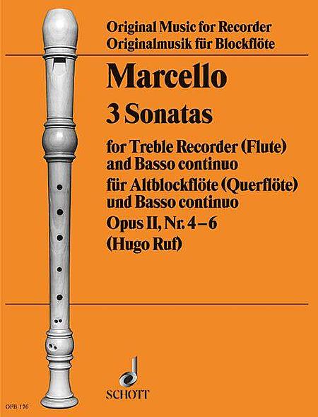 6 Sonatas, Op. 2, Volume 2 (4-6)