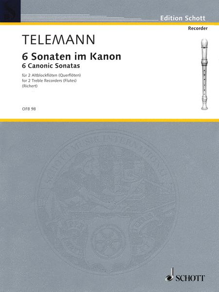 6 Sonatas in Canon, Op. 5