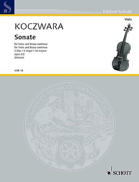 Viola Sonata in C Major, Op. 2/2