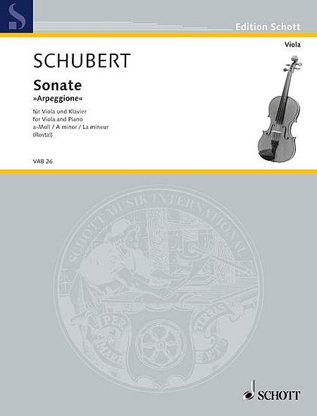 Sonata for Arpeggione in A Minor, D 821