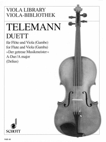 Duet in A Major from Der getreue Musikmeister