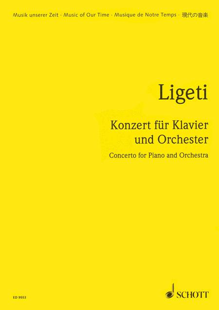 Concerto for Piano and Orchestra (1985-88)