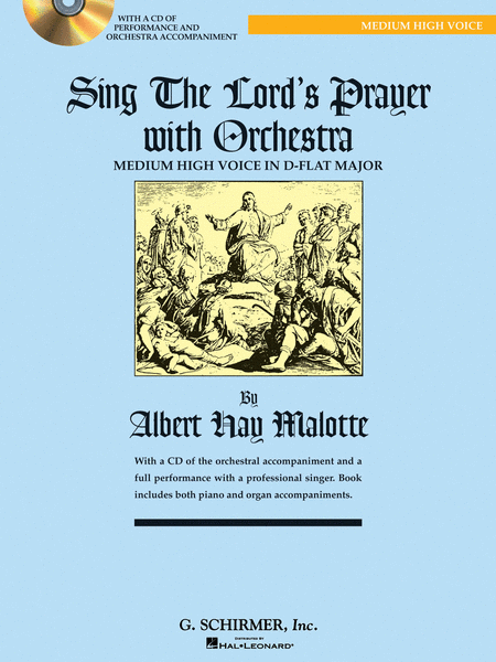 Sing The Lord's Prayer with Orchestra - Medium High Voice