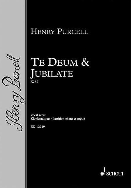 Te Deum & Jubilate, Z232