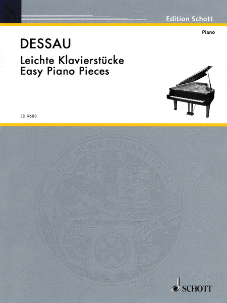 Paul Dessau (1894-1979) - Easy Piano Pieces