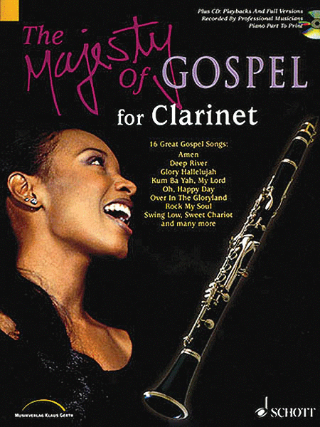 The Majesty of Gospel for Clarinet