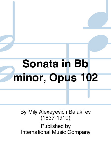 Sonata in Bb minor, Opus 102
