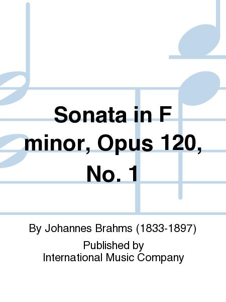 Sonata in F minor, Opus 120, No. 1