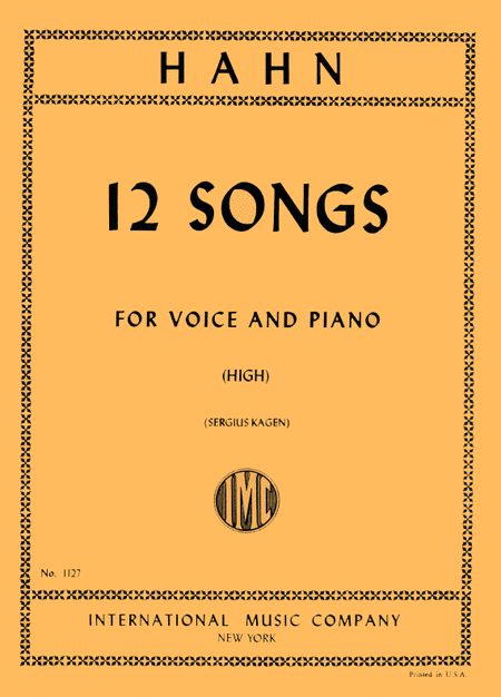 Twelve Songs - High