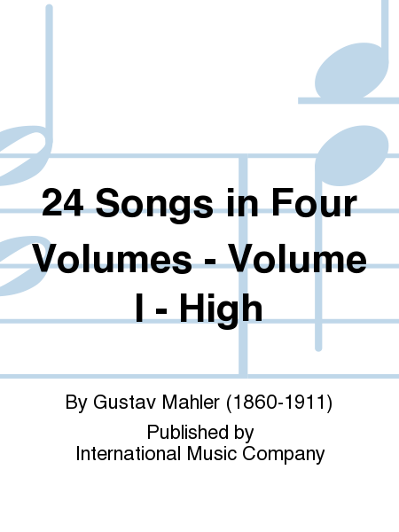 24 Songs in Four Volumes - Volume I - High