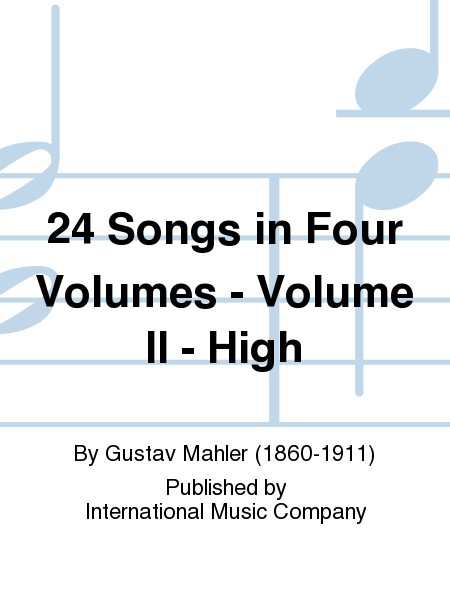 24 Songs in Four Volumes - Volume II - High