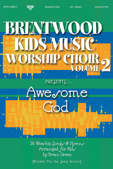 Brentwood Kids Worship Choir, Vol. 2...Awesome God (CD Preview Pack)