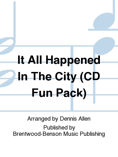 It All Happened In The City (CD Fun Pack)