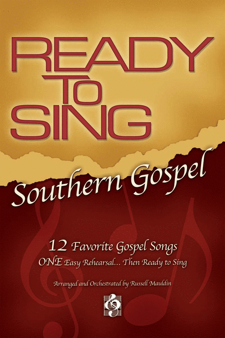 Ready To Sing Southern Gospel, Volume 1 (Split Track Accompaniment CD)