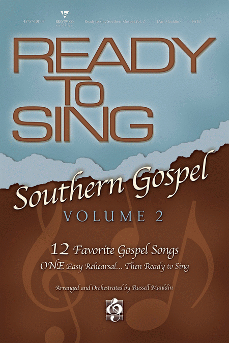 Ready To Sing Southern Gospel, Volume 2 (Listening CD)