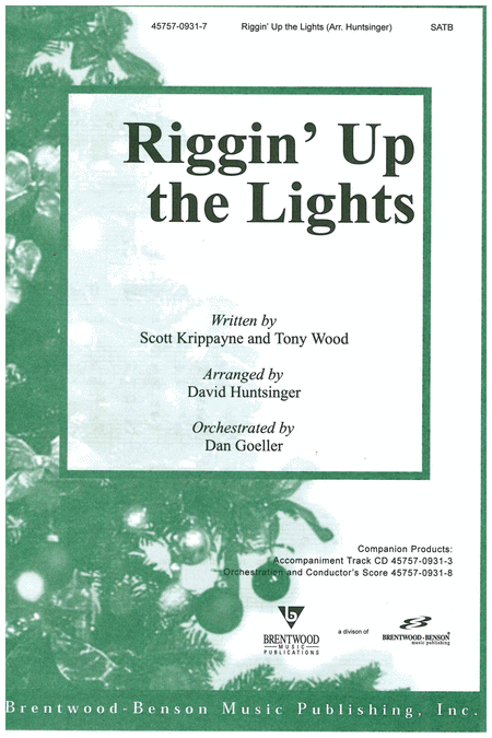 Riggin' Up The Lights (Split Track Accompaniment CD)