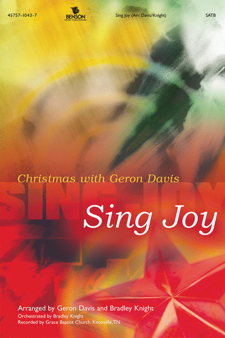 Sing Joy (Orchestra Parts)