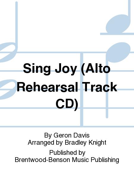 Sing Joy (Alto Rehearsal Track CD)