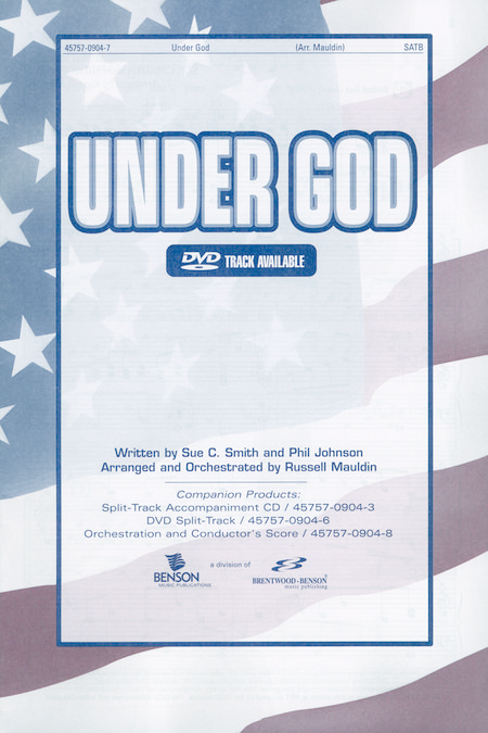 Under God (Orchestra Parts and Conductor's Score)