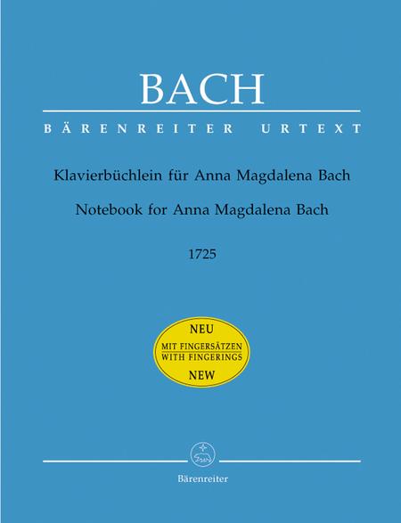 Klavierbuechlein fuer Anna Magdalena Bach
