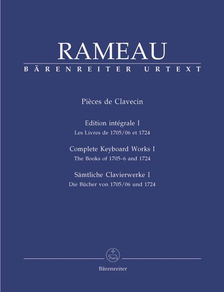 Samtliche Clavierwerke, Band I