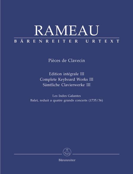 Samtliche Clavierwerke, Band III