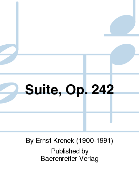 Suite, Op. 242
