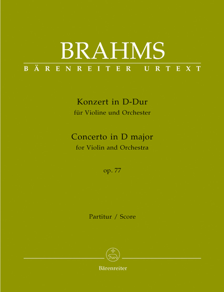 Concerto in D major for Violin and Orchestra