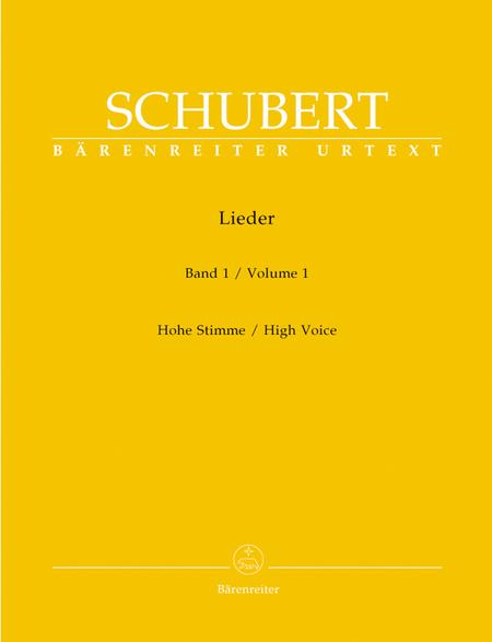 Lieder, Volume 1