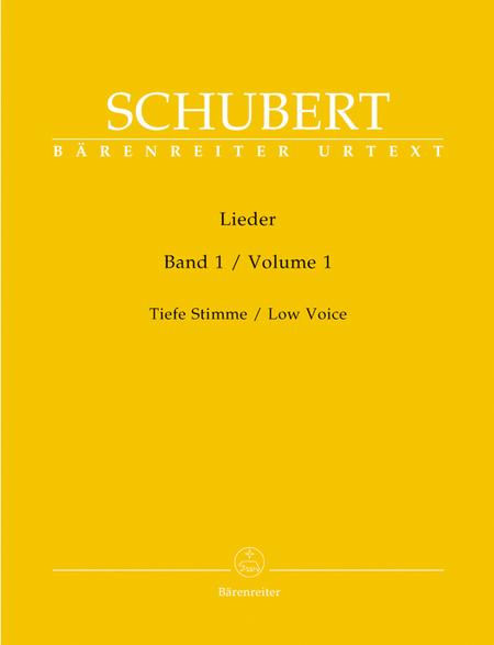 Lieder, Volume 1 (Band 1)