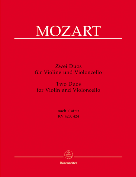 Zwei Duos for Violin and Violoncello