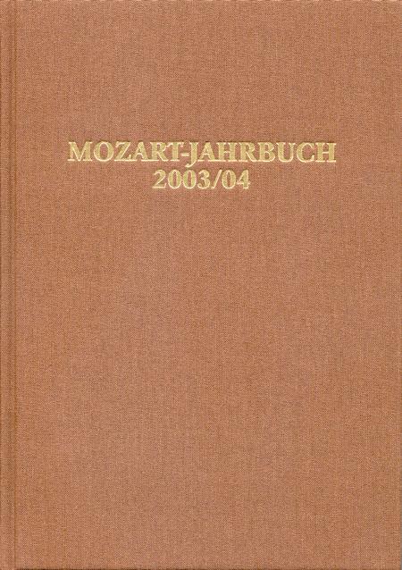 Mozart-Jahrbuch 2003/04