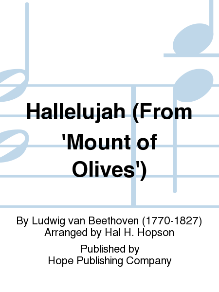 Hallelujah (From 'Mount Of Olives')