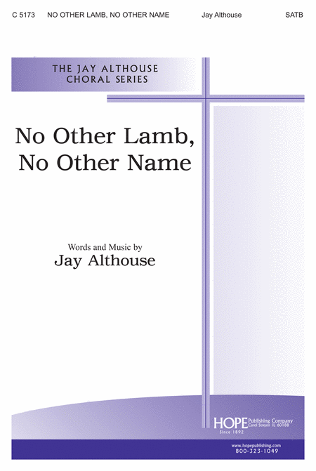 No Other Lamb, No Other Name