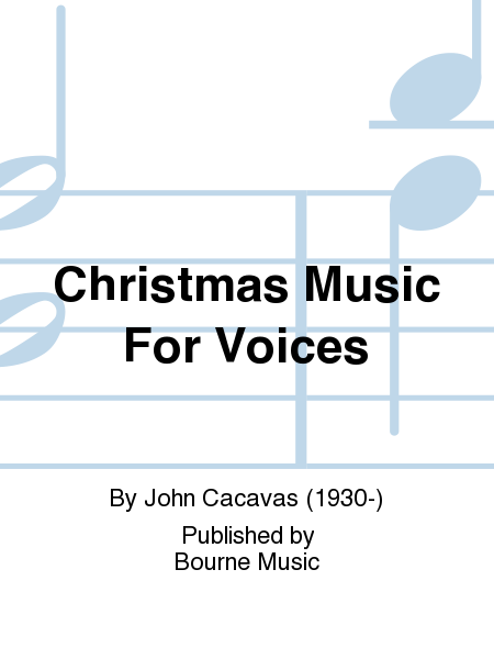Christmas Music For Voices