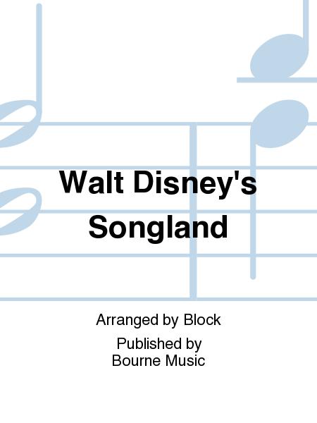 Walt Disney's Songland